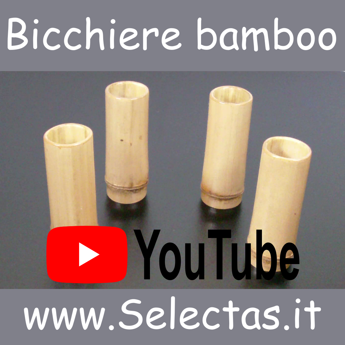 Video Bicchiere bamboo